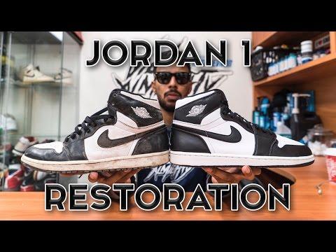 Restorations with Vick - Air Jordan 1 Restoration