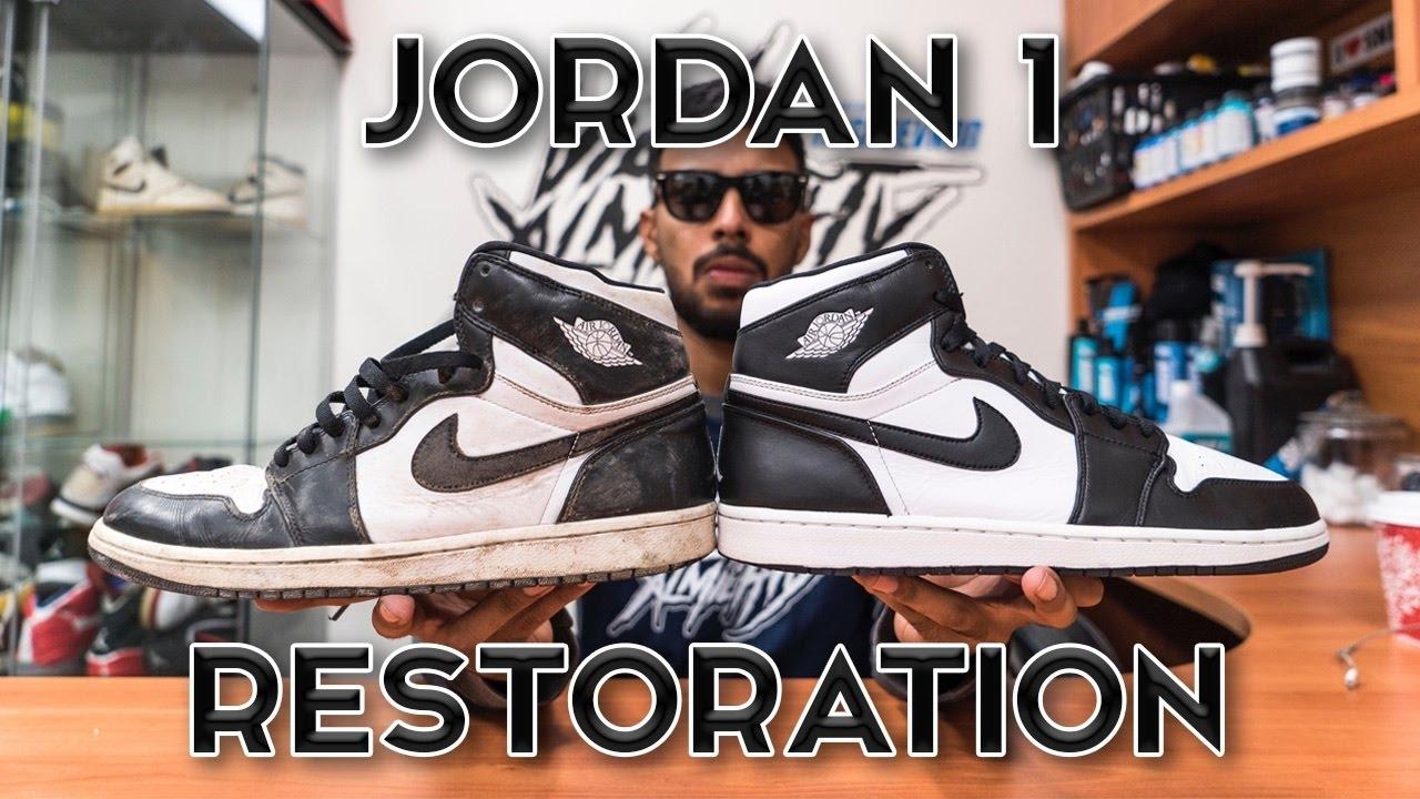 f6a4d7ca49dd Restorations with Vick - Air Jordan 1 Restoration - YouTube