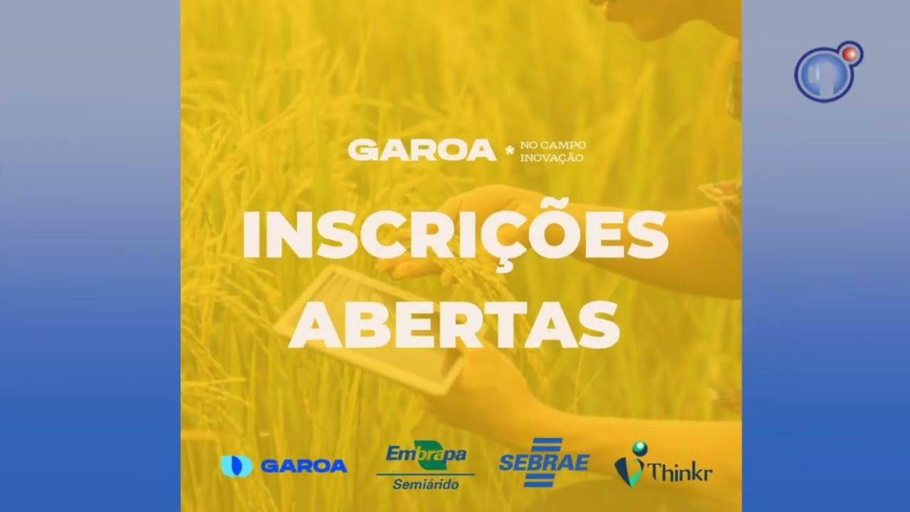 Univasf participa do desafio virtual Garoa no Campo