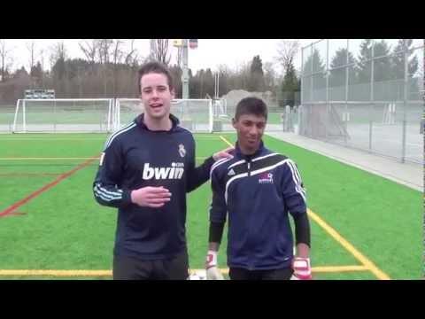 Football Skills - Learn Goalkeeper Football Skills - How To Take A Goalkick