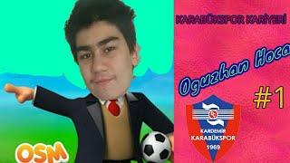 Bu takım adam olacak OSM Karabükspor Kariyeri #1