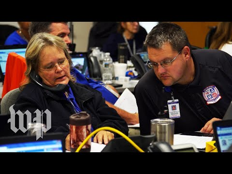 Inside an emergency operations center, Florence brings a multitude of calls and worry