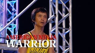 Sam Sann at the 2014 Dallas Finals | American Ninja Warrior