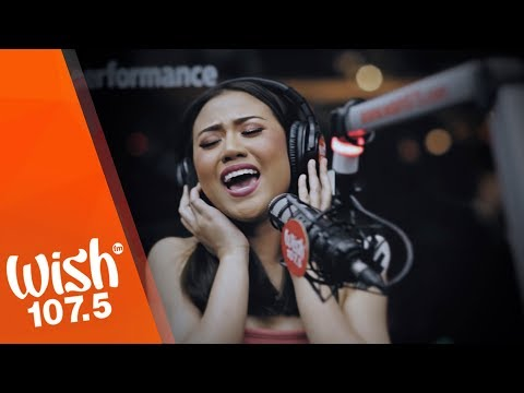 "Morissette performs ""Shine"" LIVE on Wish 107.5 Bus"