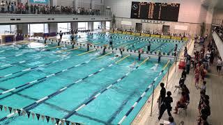 2018.10.28 横浜国際プール短水路記録会 man 50mSF last heat