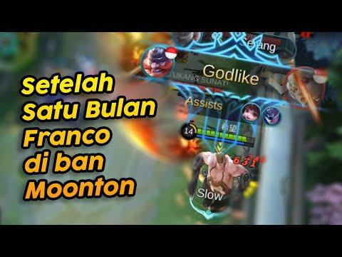 AKHIRNYA FRANCO SUDAH GA DI BAN MOONTON !!