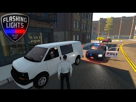 ONE OF THREE MODES - POLICE - Flashing Lights #1 | Radex |