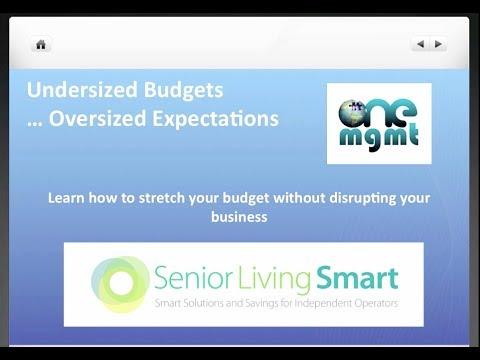 SMARTWebinar: Undersized Budgets Oversized Expectations