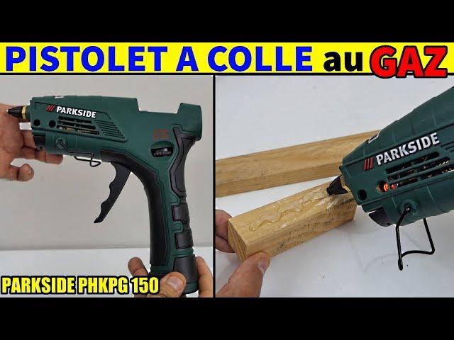 Pistolet à Colle Au Gaz Lidl Parkside Phkpg 150 Gas Hot Glue