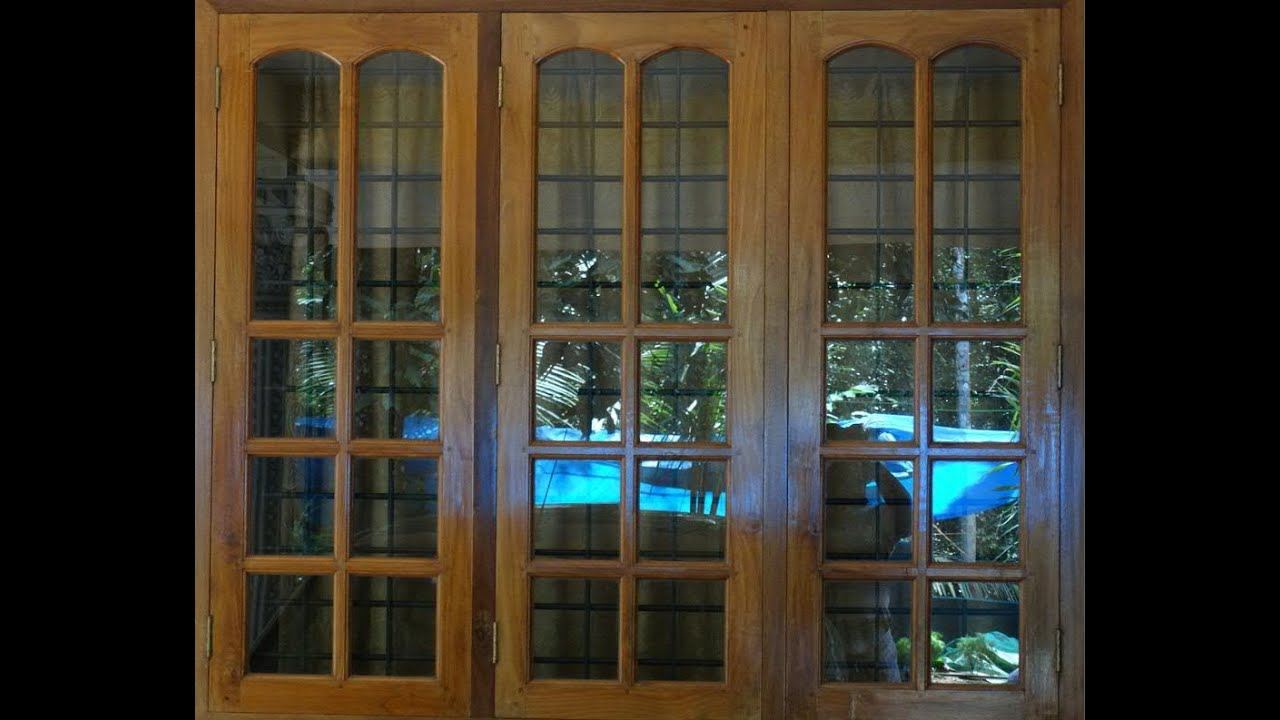 Beautiful Windows For Bed Rooms In Teak Wood Youtube