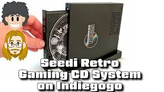 Seedi Retro Gaming CD System on Indiegogo - #CUPodcast