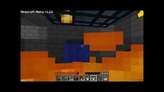 Lava Corner Mob Trap - Minecraft