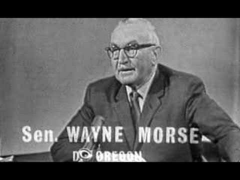 Wayne Morse from War Made Easy