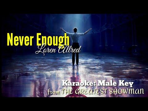 never-enough-by-loren-allred---karaoke:-male-key