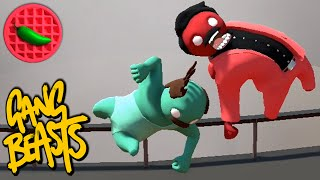 SUDDEN BEAST BLASTING! -- Gang Beasts (Update 0.4.4) (Local Versus) (Early Access)
