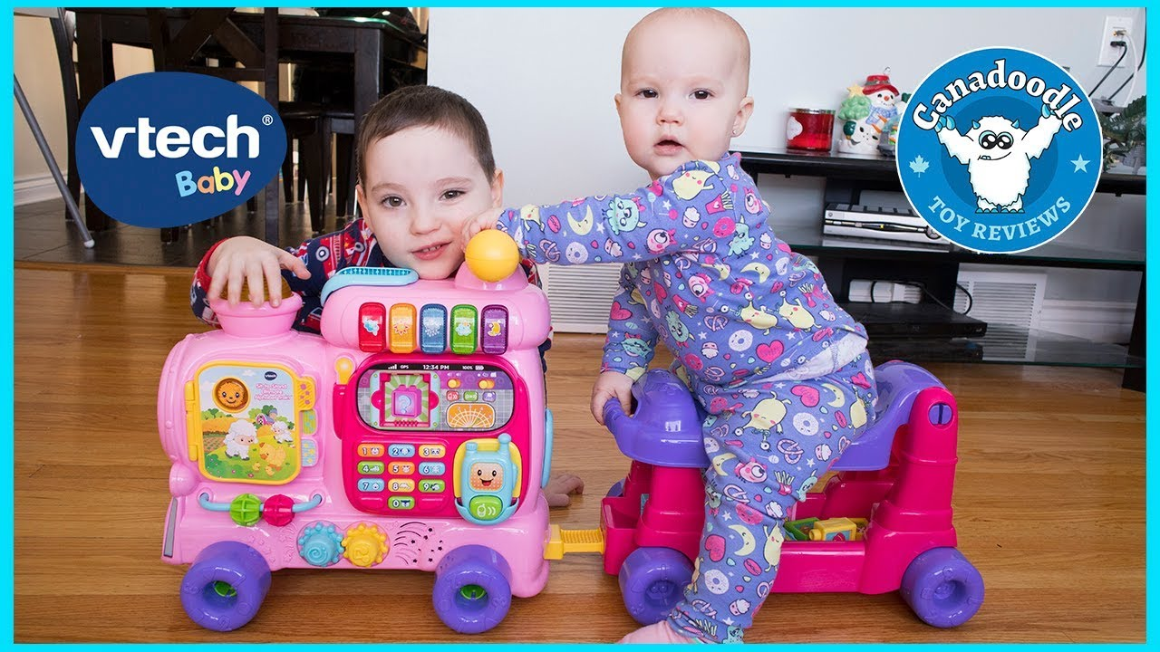 Vtech Sit To Stand Ultimate Alphabet Train Unboxing Playtime With