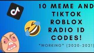 Thai Tiktok Roblox 10 Meme Roblox Id Codes Some Tiktok Codes Working 2020 2021 Youtube