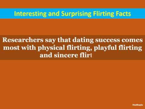 Interesting And Surprising Flirting Facts