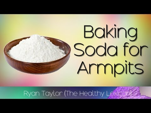 Baking Soda: for Underarms (Whitening + Odour)