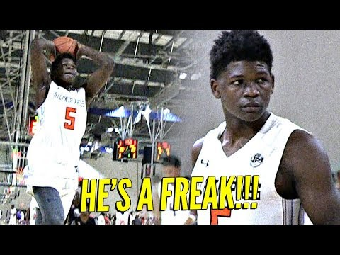 Anthony Edwards is a FREAK!! Puts On a Clinic For D1 Coaches at UAA!!