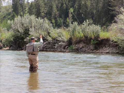 Upper canyon outfitters fly fishing 2009 youtube for Ruby river fishing report