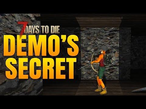 SECRET ITEM DEMO WON'T TELL! - 7 Days to Die Alpha 16 Multiplayer Gameplay #37