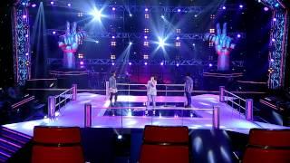 The Voice Kids Thailand - เนย VS แก้ม VS แทน - รักเธอทั้งหมดของหัวใจ - 8 June 2013