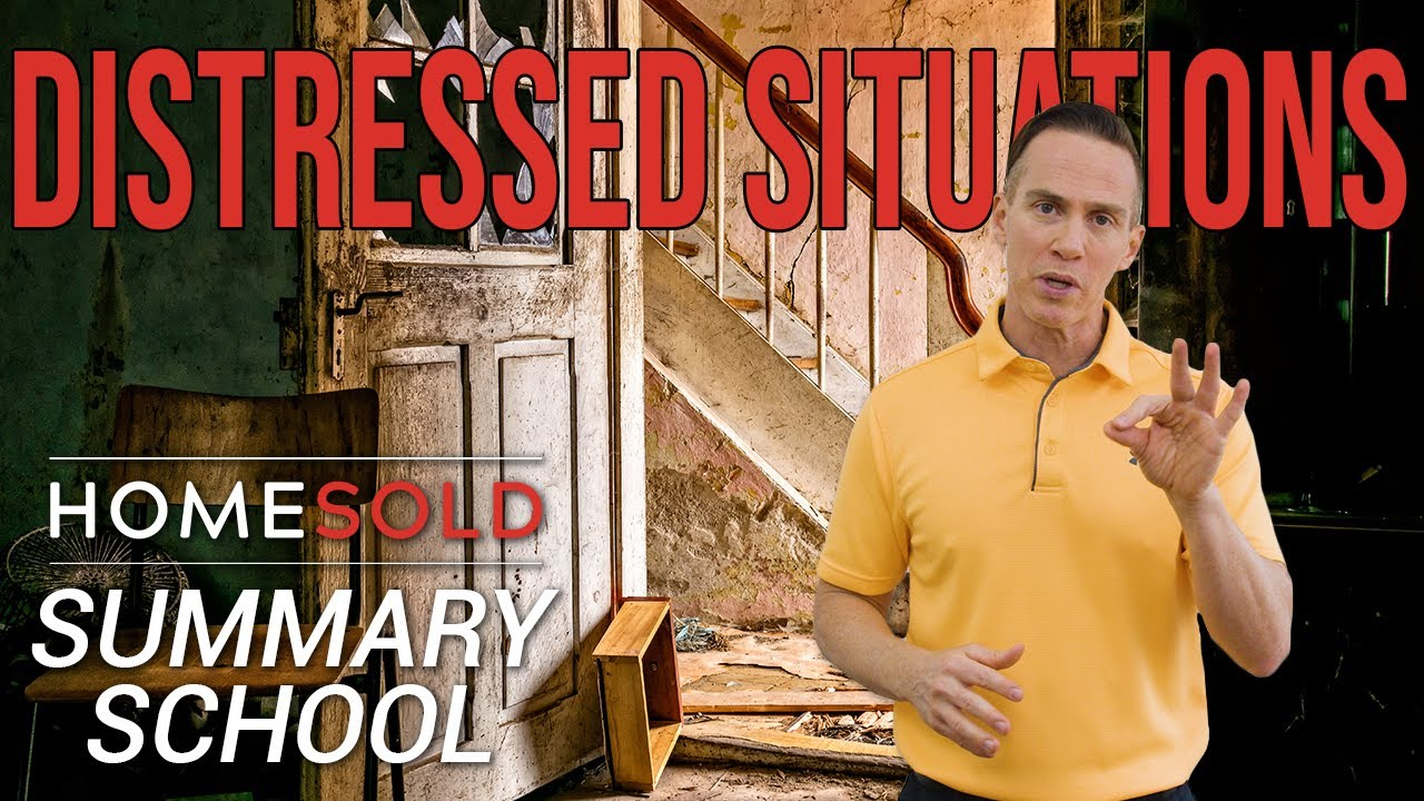 What is a Distressed Situation in Atlanta Real Estate -HomeSold GA Summary School