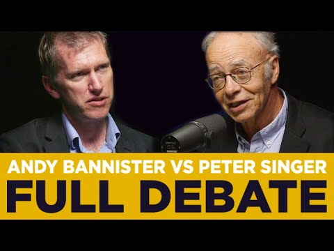 Andy Bannister Vs Peter Singer • Do We Need God To Be Good?