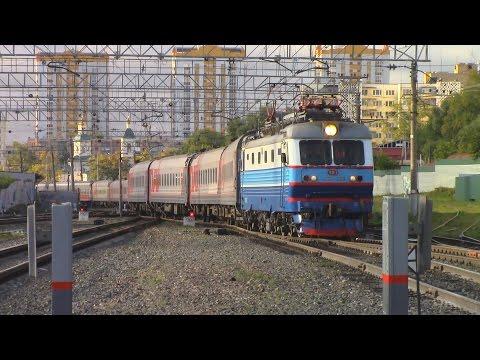 Фирменный поезд Мордовия Москва - Саранск