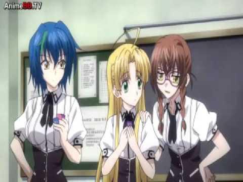 High school DxD anv hantai anime opening song - YouTube
