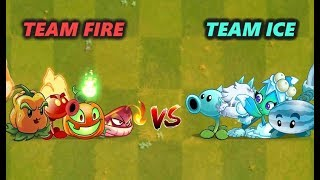 Plants Vs Zombies 2 FIRE vs ICE - PvZ 2 Gameplay
