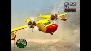 GTA San Andreas Conwing L-16 Sea Duck Mod