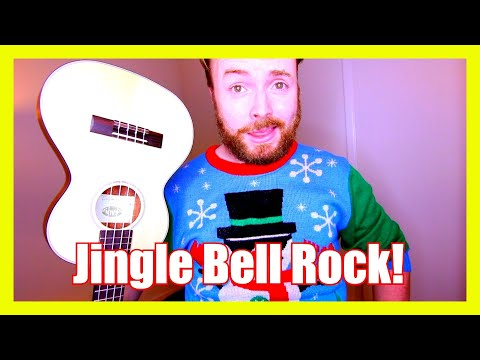 JINGLE BELL ROCK - CHRISTMAS UKULELE TUTORIAL!