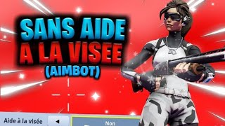"I dared to play without ""HELP TO THE VISÉE"" on FORTNITE ... and here's what happened (aimbot) 🤫"