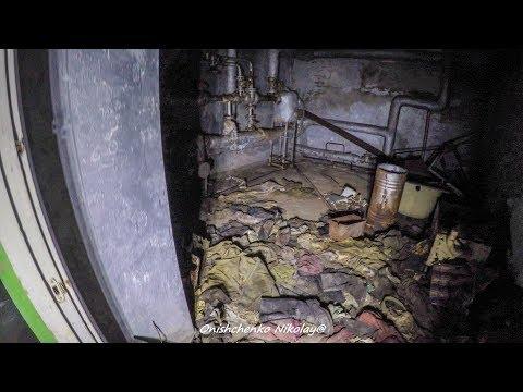 Чернобыль, Припять, подвал МСЧ-126 в 4К / Hospital MsCh-126. Horrifying basement