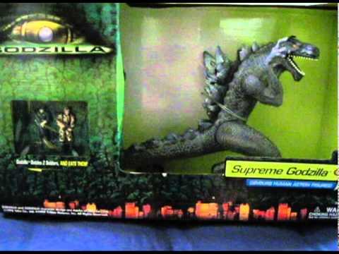 Godzilla 1998 Figure Supreme Devours Human Action Figures ...