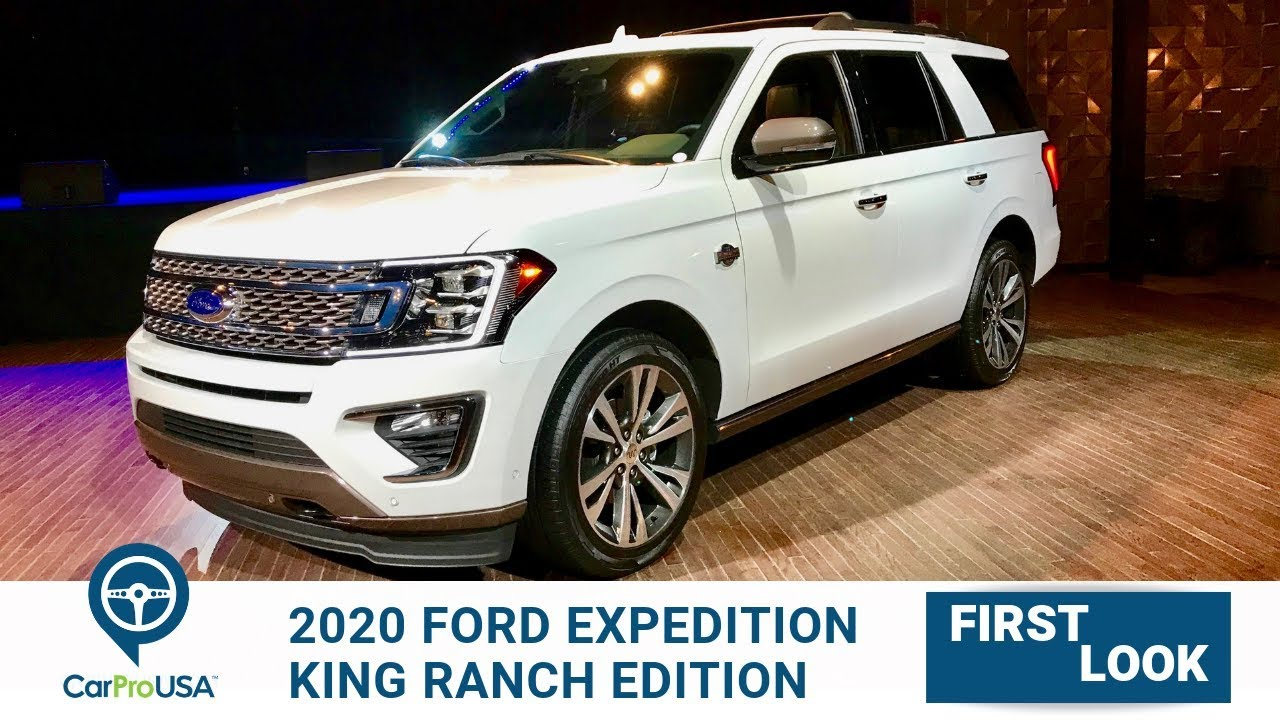 King Ranch Ford >> 2020 Ford Expedition King Ranch First Look - YouTube
