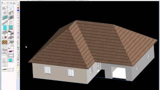 Урок моделирования крыши и люкарны в программе Дом-3D