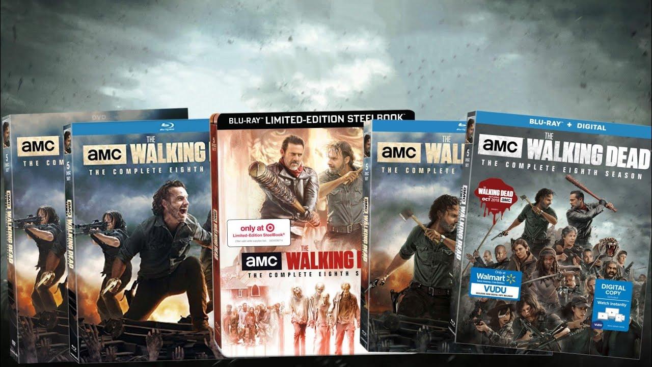 The Walking Dead Season 8 Blu Ray Retailer Exclusives