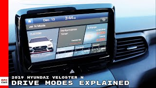 2019 Hyundai Veloster N Drive Modes Explained