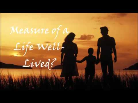 Measure of a Life Well Lived, Western Literature