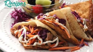 Grilled Chicken Wonton Tacos - Better than Applebees! - I Heart Recipes
