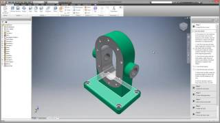 Autodesk Inventor LT - start up learning experience video