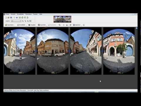 PanoramaStudio Pro stitcht Fisheye-Bilder