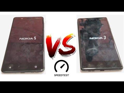 Nokia 5  VS  Nokia 3 - Speed Test & Comparison