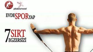 Evde Spor Yap/ Sırt Kaslarınız İçin 7 Pilates Egzersizi /Evde Pilates Yap