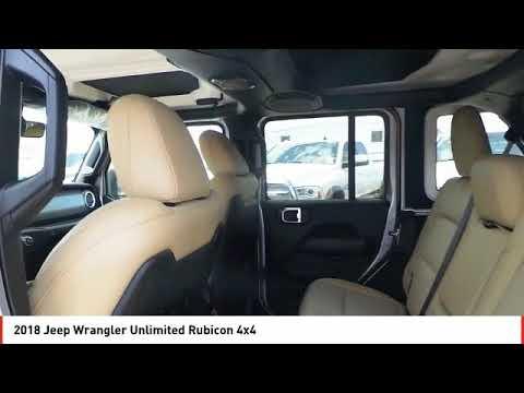 2018 Jeep Wrangler Unlimited Odessa TX JW146925