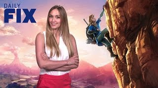 the legend of zelda breath of the wild gameplay and more ign daily fix