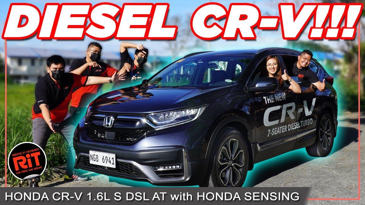 Download 2021 Honda CRV Diesel AT with Honda Sensing : 7 seater Diesel Crossover